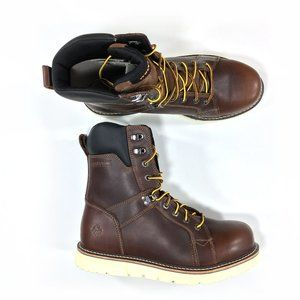 """Wolverine I-90 8"""" Work Boots Size 12 Extra Wide"""